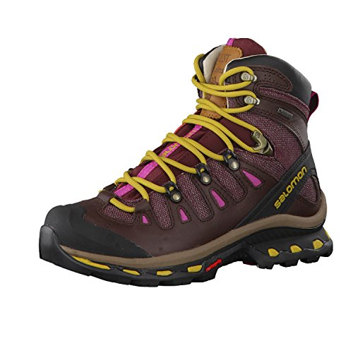 Salomon Women's Quest Origins 2 GTX Hiking Boots, Purple Leather, 7 B by Salomon