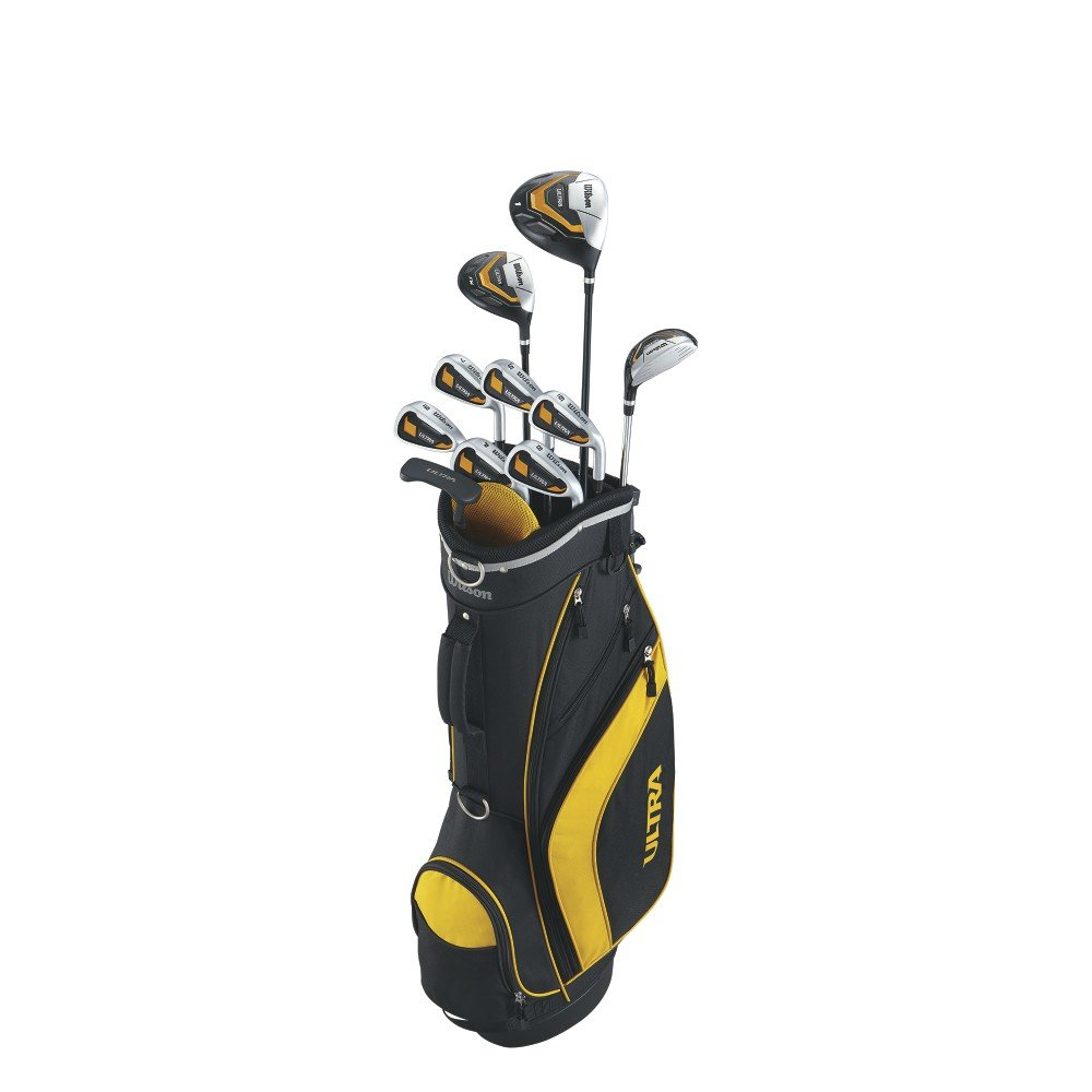 8ca1a011db Amazon.com : Wilson Men's Ultra Complete Package Golf Set, Right Hand,  Standard : Sports & Outdoors