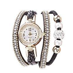 Small Dial Rhinestone Crystal Watch