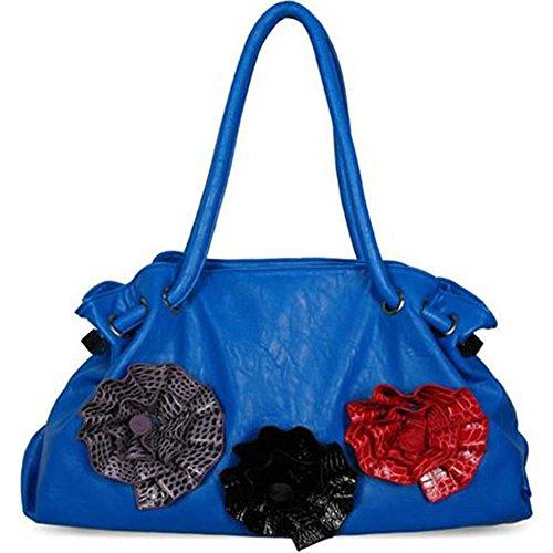 TrendStar - Bolso estilo cartera para mujer I - Blue