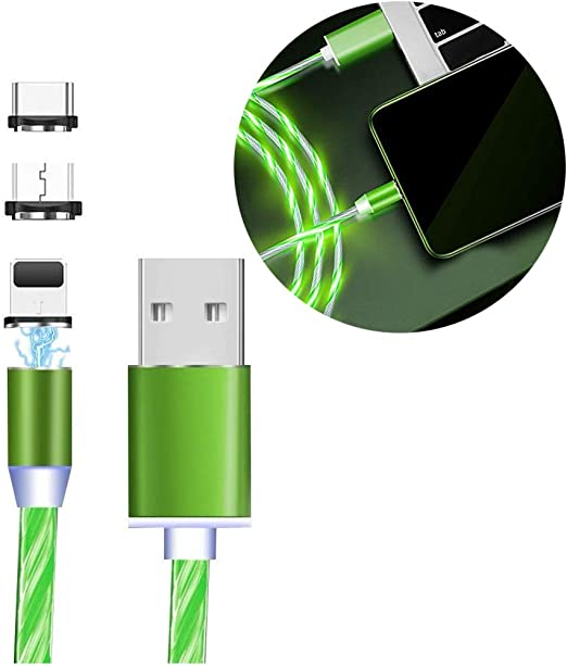 Micro USB Cable A Magical Eye in The Style of Boho 3-in-1 Retractable USB Cable Type C Sync Fast Charging Cord for All Phone Tablets 2x2x0.8 Mini Square