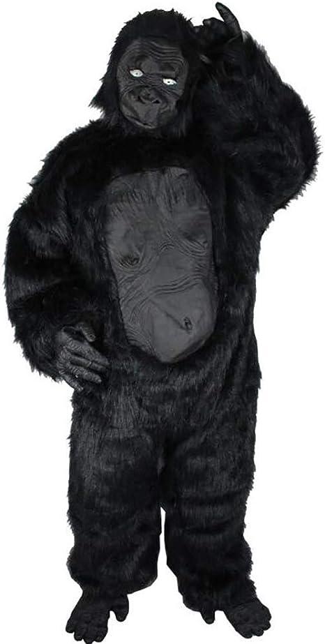 SHANGLY Halloween Navidad chimpancé Cosplay Ropa Gorila Animal ...