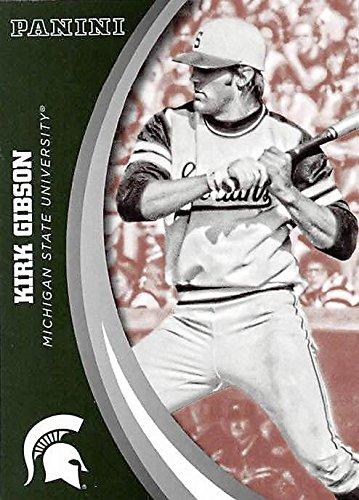 Kirk Gibson Baseball Card Michigan State Spartans 2016