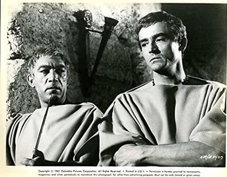 "Anthony Quinn Vittorio Gassman Barabbas Original 8x10"" Photo #J3965 at  Amazon's Entertainment Collectibles Store"