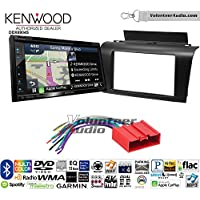 Volunteer Audio Kenwood Excelon DNX694S Double Din Radio Install Kit with GPS Navigation System Android Auto Apple CarPlay Fits 2004-2009 Mazda 3