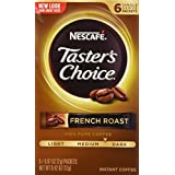 Taster's Choice French Roast Instant Coffee, 6 Count