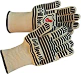 Grill Heat Aid Oven Gloves - MULTI COLORS