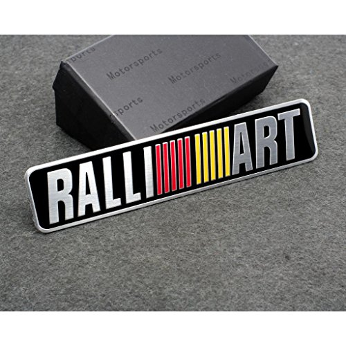 C147 Car Styling Accessories Emblem Badge Decal Sticker RALLIART Racing Motorsport MITSUBISHI LANCER PAJERO OUTLANDER ASX Galant Eclipse Spyder