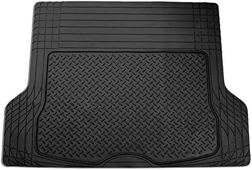 FH Group F16400BLACK Black All Season Protection Cargo Mat/Trunk Liner (Trimmable) Size 55.5″ x 42.5″ Large