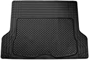 """FH Group F16400BLACK Black All Season Protection Cargo Mat/Trunk Liner (Trimmable) Size 55.5"""" x 42.5&q"""