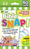 Bible Snap Christian 50-Count Game Cards (I'm Learning the Bible Flash Cards)