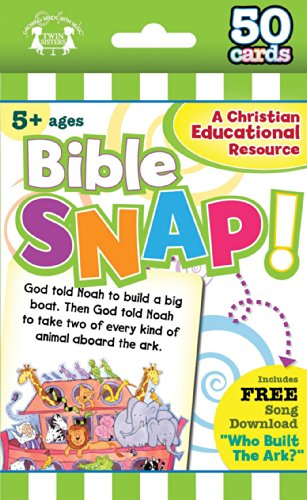 (Bible Snap Christian 50-Count Game Cards (I'm Learning the Bible Flash Cards))