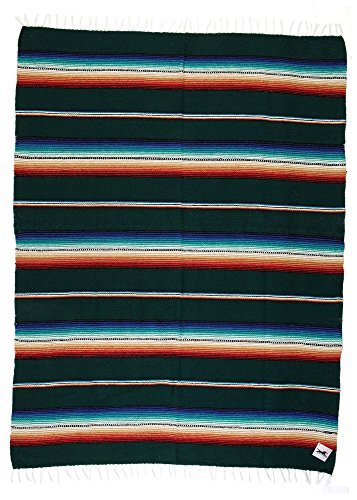 (El Paso Saddleblank Rio Bravo South West Style Wall Tapestry Hand Woven Heavy Weight Acrylic (Purple))