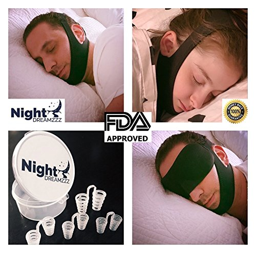 Night Dreamzzz Premium Anti Snoring Chin Strap