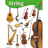 """Trend Enterprises String Instruments Learning Chart (1 Piece), 17"""" x 22"""""""