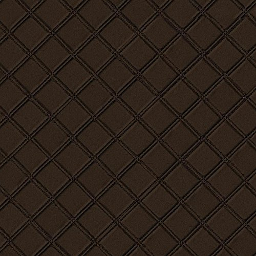 WallFace 15037 ROMBO Wall panel leather square 3D interior decor luxury wallcovering self-adhesive brown   2,60 sqm by Wallface (Image #4)
