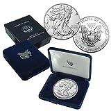 BULLION  Amazon, модель 2018 American Silver Eagle Brilliant Uncirculated US Mint Box, артикул B0792L4KW2
