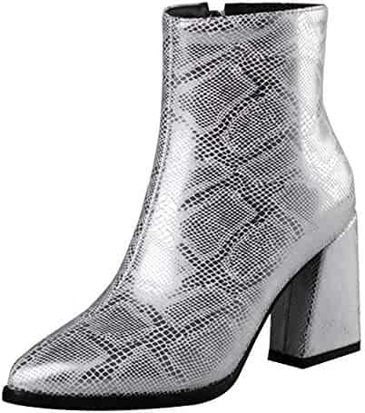 a5353bf632952 Shopping Zip or Slip-On & Pull-On - Silver or Red - Mid-Calf - Boots ...
