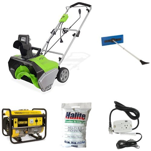 Where Can You buy Electric Snow Thrower, Broom, Ice Melt, De-Icing Cable, and Generator Bundle