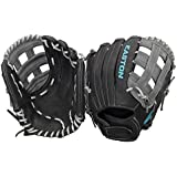 Easton Core Fastpitch Series COREFP1225BKGY 12.25 in Infield/Pitcher Pattern