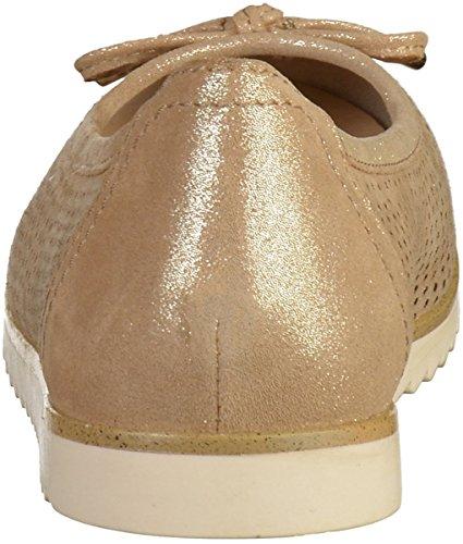 Marco Tozzi 2-22115-28 Damen Ballerinas Beige(Dune)