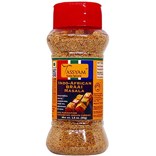 BRAAI Indo African Seasoning 80g (2.82 oz)g, Dispenser Bottle by -