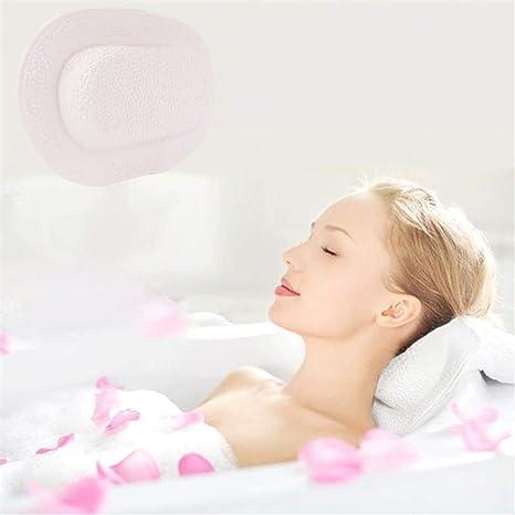 Almohada de Bañera Cojin de Baño - Respaldo Soporte ...