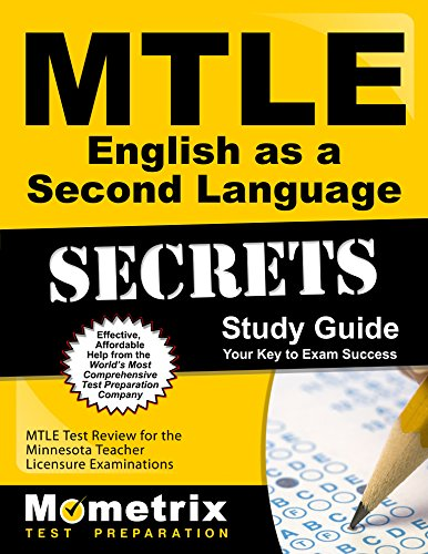 MTLE English as a Second Language Secrets Study Guide: MTLE Test Review for the Minnesota Teacher Licensure Examinations by Mometrix Media LLC