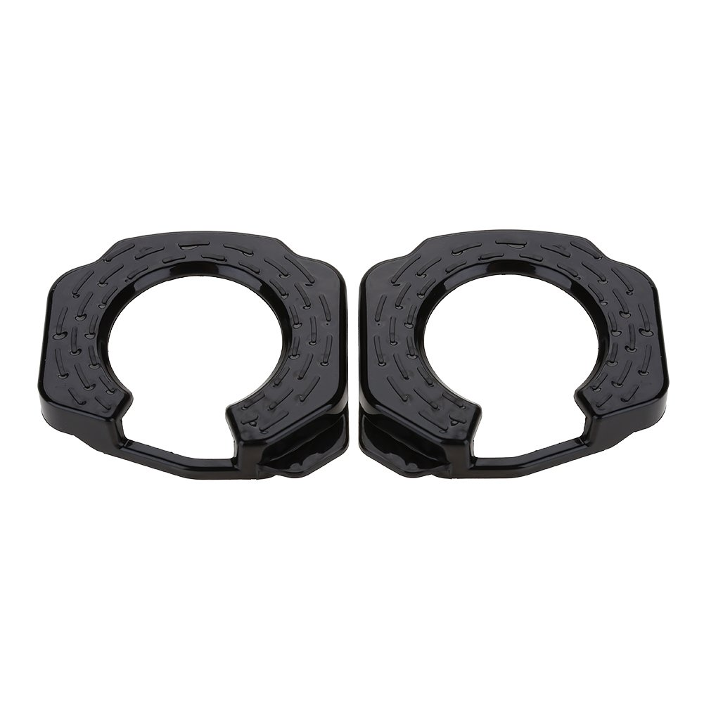 VGEBY 1Pair Cleat Covers, Lightweight Plastic Bicycle Cycling Shoes Protection Cover