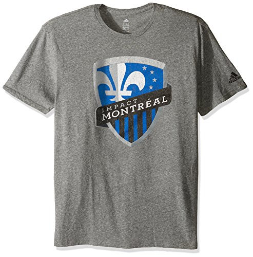 fan products of MLS Impact Montreal Adult Men Vintage Too Tri-Blend S/Tee,Medium,Gray