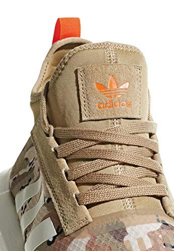 Tin Cardboard Barrier Run White Adidas 43 Swift Orange H6wnqO