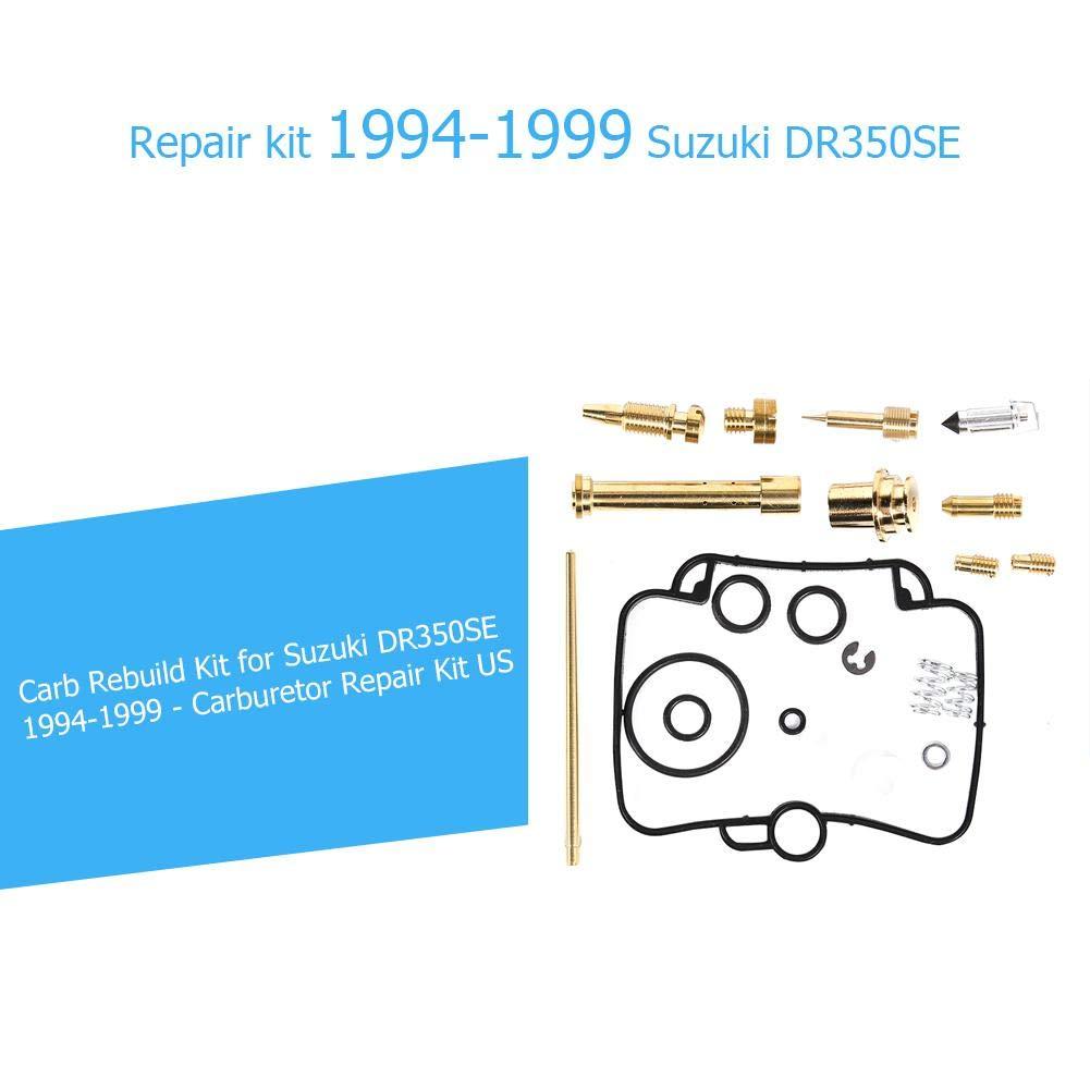 AFFEco Kit di ricostruzione Carb per Suzuki Dr 350 SE DR350SE Kit di Riparazione Carb 1994-1999
