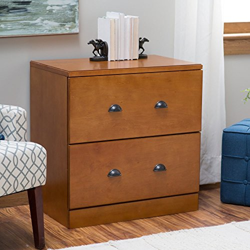 Belham Living Cambridge Lateral Filing Cabinet - Light Oak ()