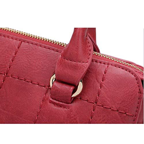 Bolso Gray Bolsa Red Señoras De color Americana Lxy Mensajero Las dIwBHnqq