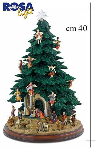 Alberi Di Natale Addobbati Foto.Albero Di Natale Gia Addobbato A 360 Con Presepe