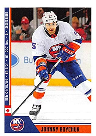 e6e0c7329c25f Amazon.com: 2018-19 Panini NHL Stickers Hockey #144 Johnny Boychuk ...