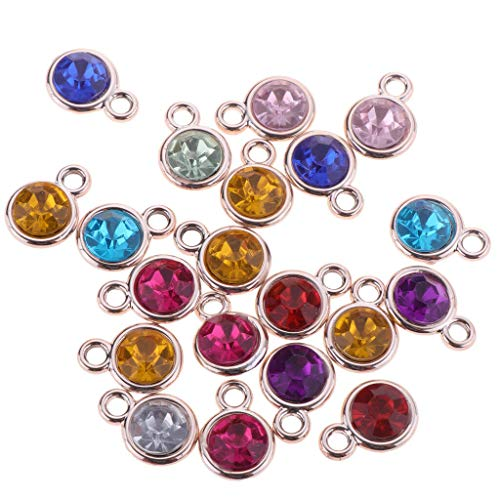 20pcs Earring Necklace Bracelet Charms Pendents for Jewelry Making Findings Necklace Jewelry Crafting Key Chain Bracelet Pendants Accessories Best| Color - Round 11x15mm (Rabbit Silver Plated Fork)