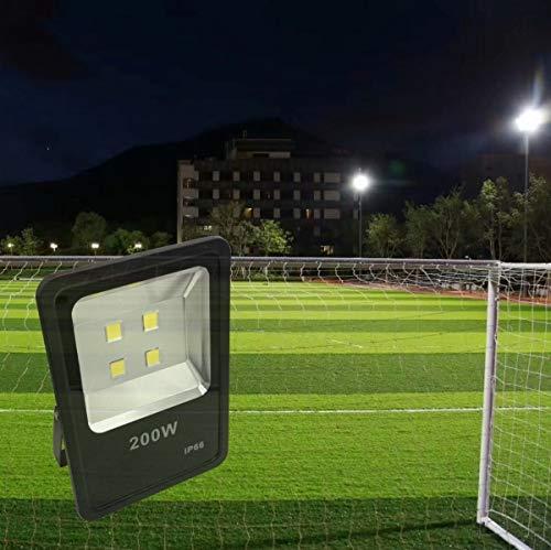 200W LED Flood Light 30000LM Stadium Lights Security Lighting fixtures Daylight AC110-240V by ZESOL (Image #6)