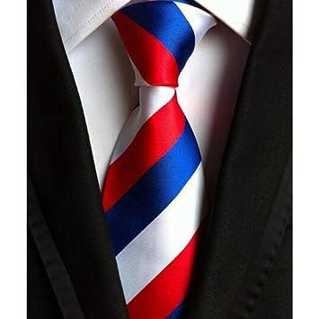 WOXHY Moda Poliéster Corbata Hombre Corbata 8 Cm Corbata Jacquard ...