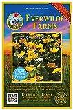 Everwilde Farms - 300 Marsh Marigold Native Wildflower Seeds - Gold Vault Jumbo Seed Packet