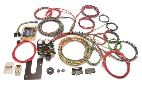 Painless 10102 Classic Customizable Chassis Harness (Key in Dash, 21 Circuits)