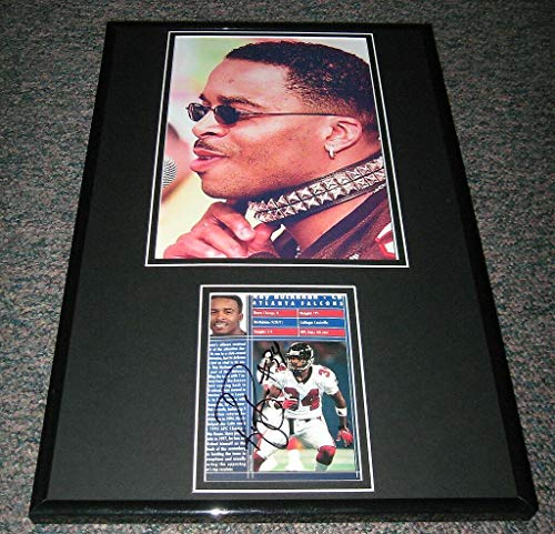 Autographed Ray Buchanan Photograph - DOG COLLAR Framed 11x17 Display Louisville - Autographed NFL Photos