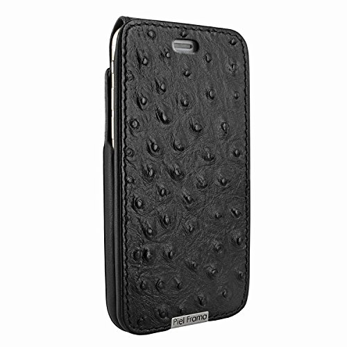 Piel Frama 770 Black Ostrich UltraSliMagnum Leather Case for Apple iPhone 7/8