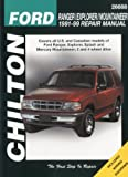 Ford Ranger, Explorer, and Mountainer, 1991-99, Chilton Automotive Editorial Staff, 0801991315