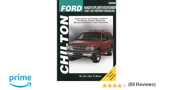Ford ranger explorer and mountaineer 1991 99 chilton total car ford ranger explorer and mountaineer 1991 99 chilton total car care series manuals chilton 9780801991318 amazon books fandeluxe
