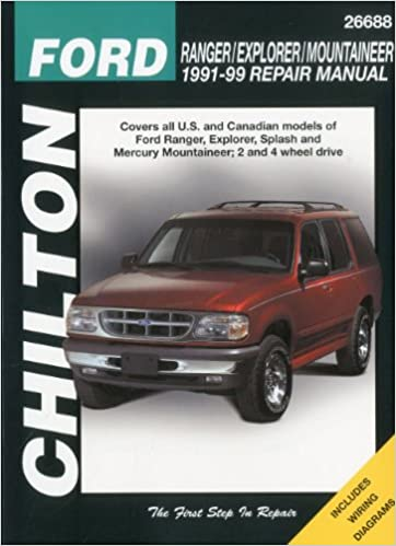 Ford ranger explorer and mountaineer 1991 99 chilton total car ford ranger explorer and mountaineer 1991 99 chilton total car care series manuals 1st edition fandeluxe Gallery