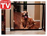 Magic Gate for Dogs - Portable Folding Mesh Screen Gate - for House Indoor Use - Dog Safe Guard Install Anywhere - As Seen On TV