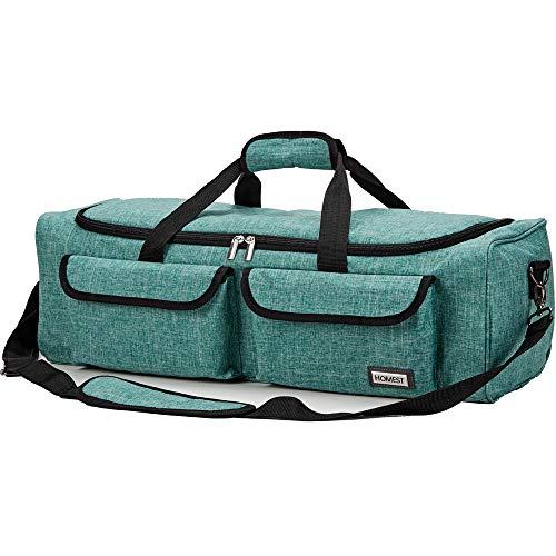 HOMEST Carrying Case Compatible with Cricut Explore Air 2, Cricut Maker, Die Cut Machine Tote, Green ()