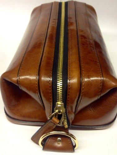 Bosca Men's Utilikit Amber Luggage Accessory by Bosca