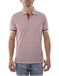 Playera Polo Manga Corta Slim Fit Vino